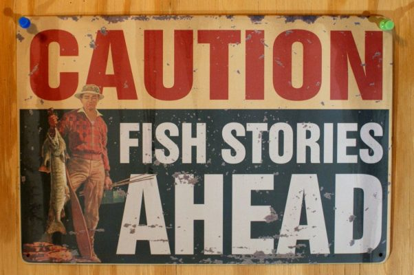 inkfrog178376730-194-caution-fish-stories-ahead-tin-sign-outdoors-fishing-cabin-decor-angler-bait-e