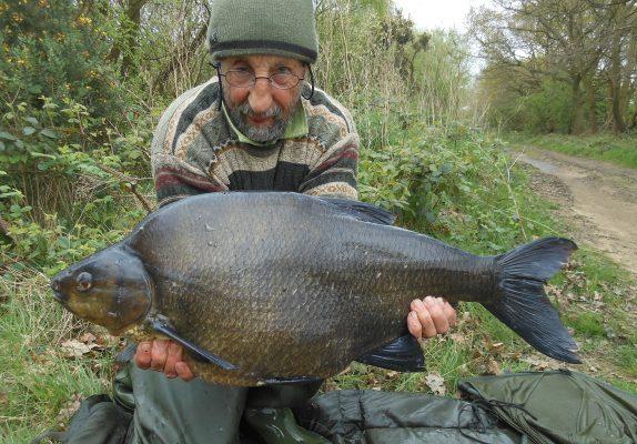 Monster bream in big fish haul