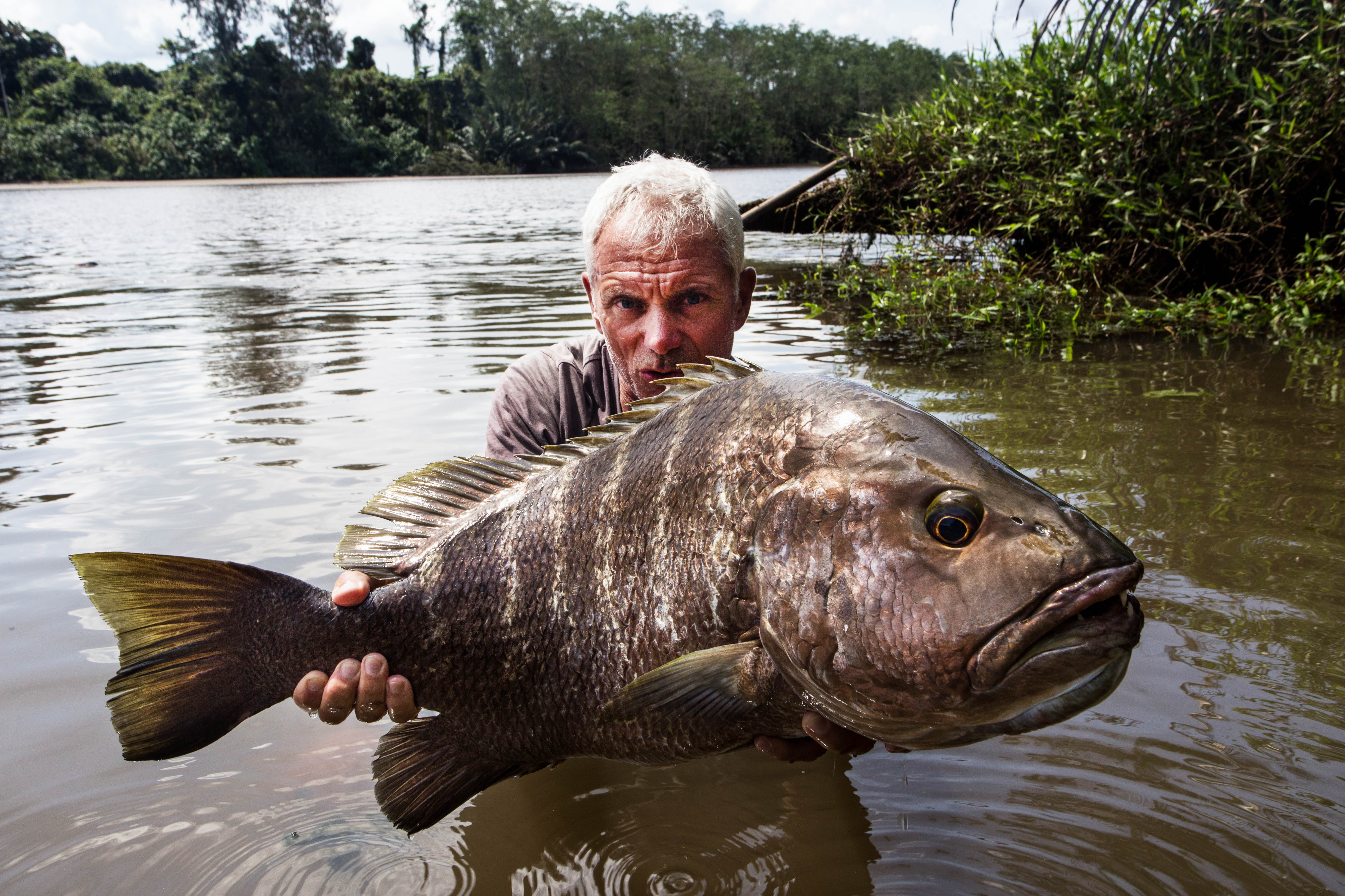Jeremy wade explains itv river monsters final series for Jeremy wade fishing rod
