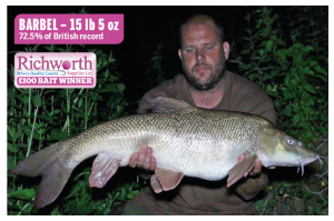 Fish of the Week now mean big prize boxes from Richworth.