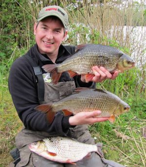 Record roach are possible at the venue Phil Spinks caught these stunners.