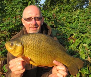 Summer fishing at its best - that was Dave Brice haul of crucians (pictured) and tench.