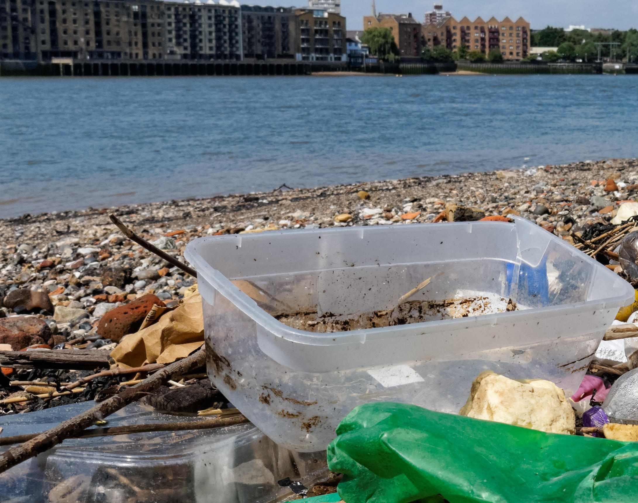 Plastic packaging is being tackled by concerned anglers.