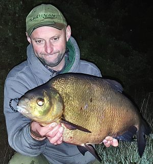 River Trent big fish ace Brett Longthorne caught this huge bream from a lake in his native North West.