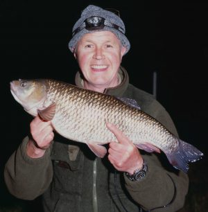 The beef burger king - Leighton McDonnell with his 7 lb 2 oz chub.