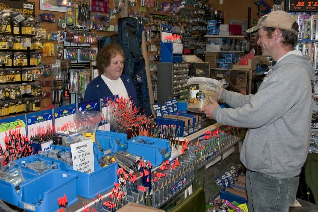 The fishing tackle trade in the UK is flat - but the number of shop workers continues to decline.