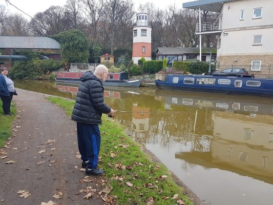 A Salford club is achieving positive mental health results through fishing.