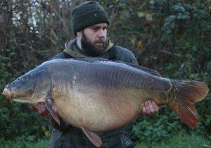 What an impressive winter carp - Simon Kenny's '50'.
