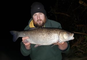 Andrew Tredgett has been in form with big chub at Kings Weir.