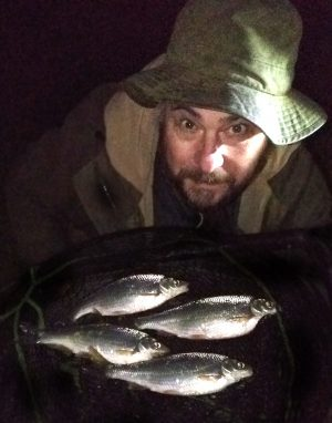 Dace fishing at night? It worked for Mark Everard!