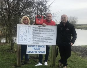 Eden Grange Fishery now has a £1,000 defibrillator machine.