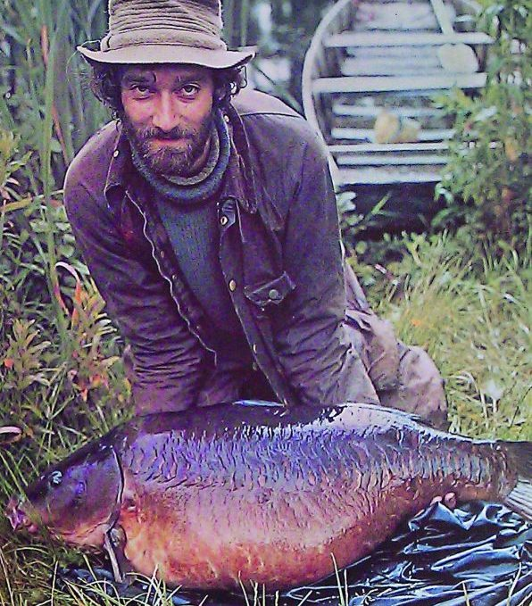 Chris Yates, seen with the biggest carp ever from Redmire Pool, has spoken about its past and future.