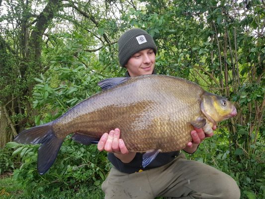 Specimen angling at its best in the shape of three PBs