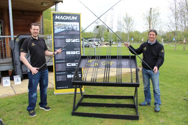 Carp Spirit's launch for the UK included a raft of quality rods.
