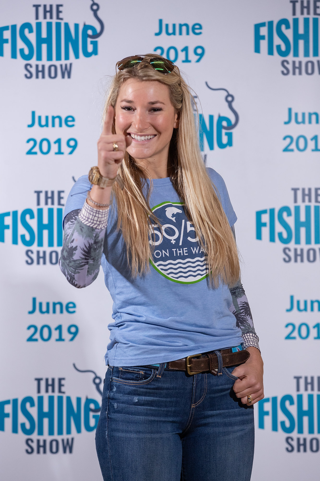 Yorkshire is No.1 - the launch of The Fishing Show excited many anglers, but sadly it's been cancelled. However the region is still a winner in EA statistics. Pic: Charlotte Graham.