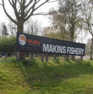 The huge Makins Fishery site is up for sale.