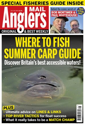 Summer carp fishing advice on best tactics to deploy
