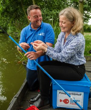 EA chief Emma Boyd launched the new National Angling Strategy which will try and boost UK angling participation.