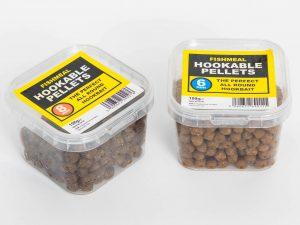 Hooker pellets are amongst the Poundland fishing baits.