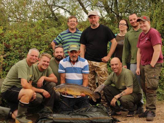 Forces veterans carp fishing project goes full steam ahead