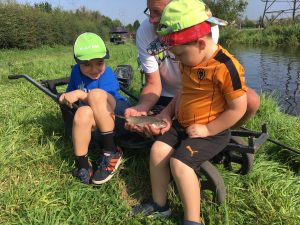 National Fishing Month and Let's Fish1 (pictured) has been helping people of all ages to experience the joys of angling.