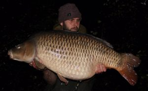 This 56 lb 4 oz common was pick of Simon Kenny's fantastic Wellington Country Park carp catch.