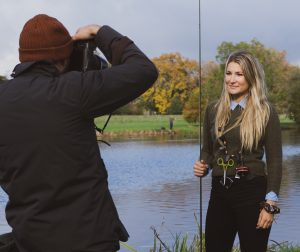Marina Gibson has been amongst the growing number of influential people explaining how fishing can improve lives, and reduce stress.