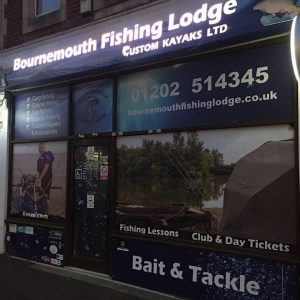 Angling shop that's turned itself around - Bournemouth Fishing Lodge.