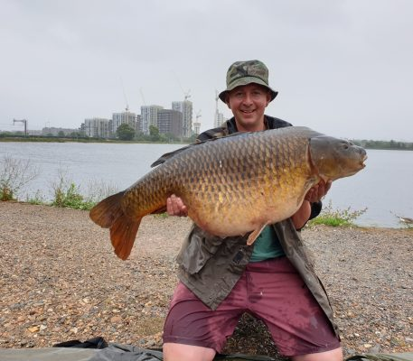 Walthamstow Reservoirs giant carp joy for Scotsman