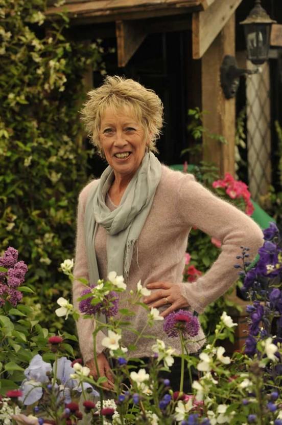 TV gardener Carol Klein