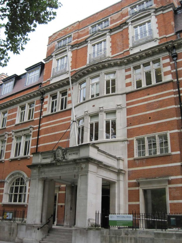 RHS HQ at Vincent Square, London