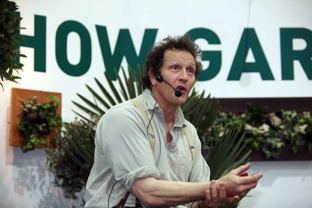 TV gardener Monty Don