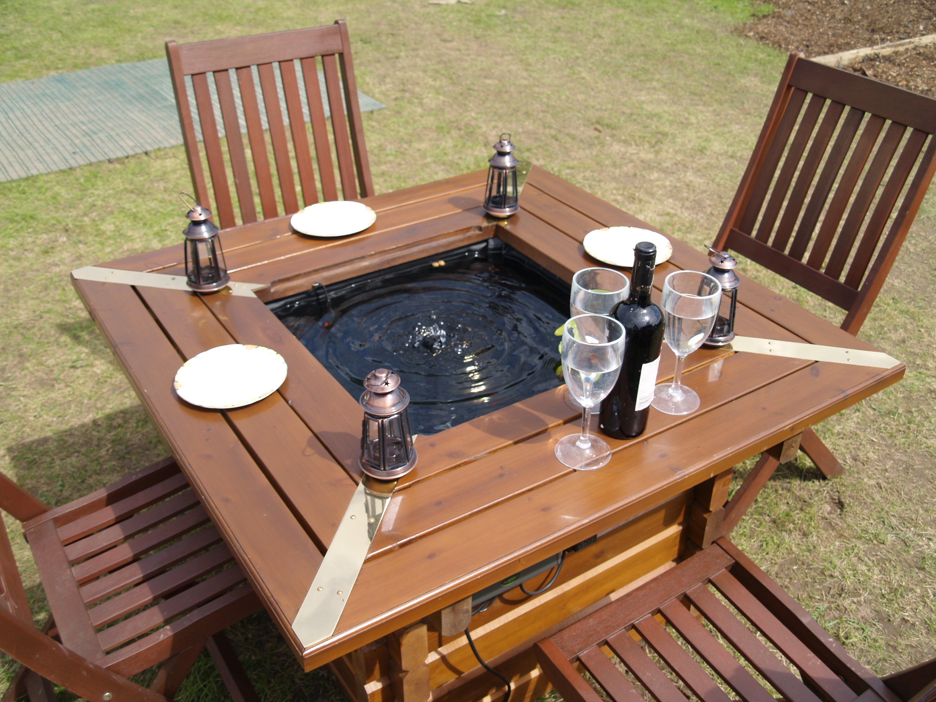 product profile pond and table amateur gardening