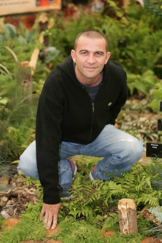 Blue Peter gardener Chris Collins