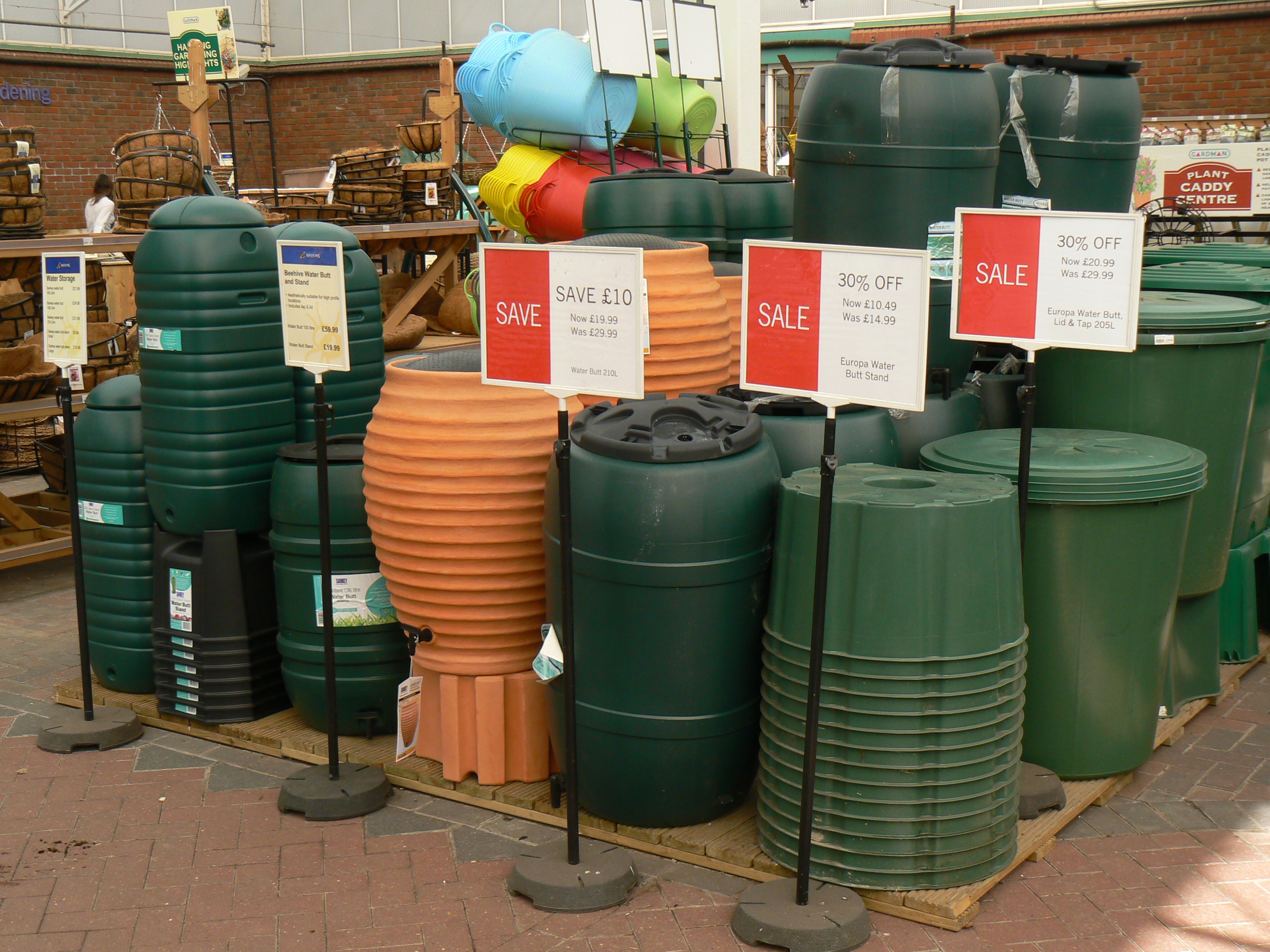Hosepipe Ban Leads To 800 Rise In Water Butt Sales