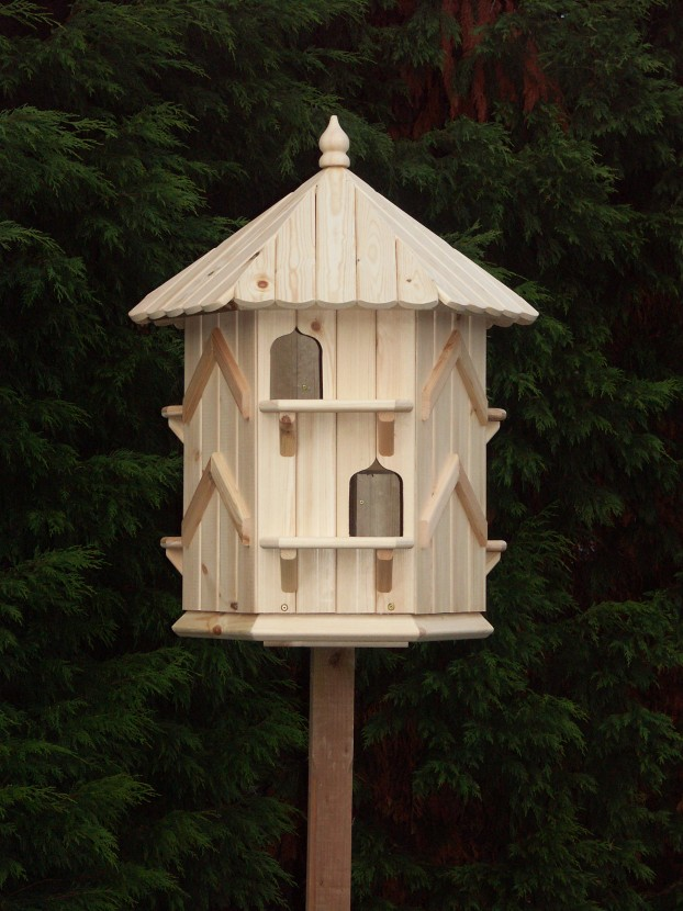 This dove cote makes a lovely feature in the garden