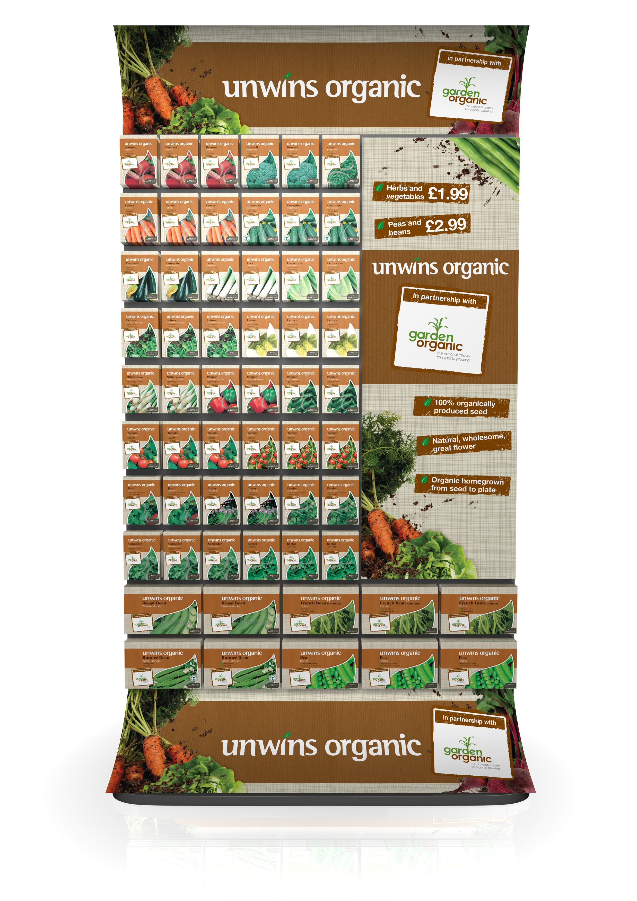Kitchen Gardeners Unwins Tempts Kitchen Gardeners With New Organic Range Amateur
