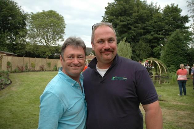 Alan Titchmarsh (left) with David Dodd