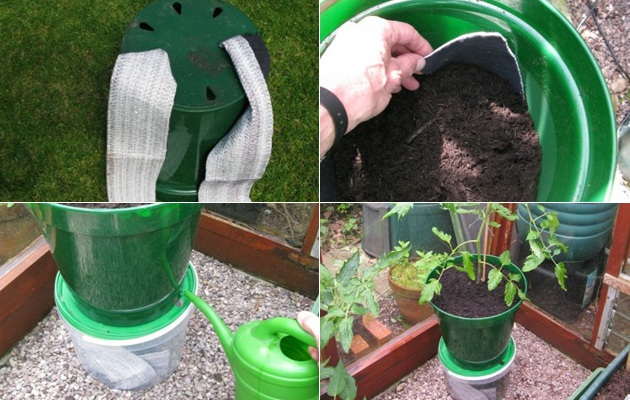 How To Create A Self Watering Planter Amateur Gardening