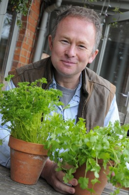 Toby Buckland is president of the Herb Society