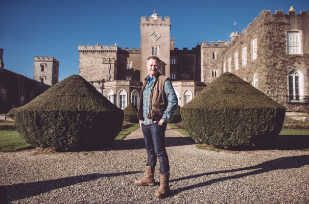 Toby's show will launch at Bowood House