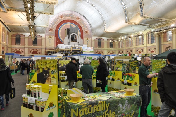 The Edible Garden Show at Alexandra Palace in 2015