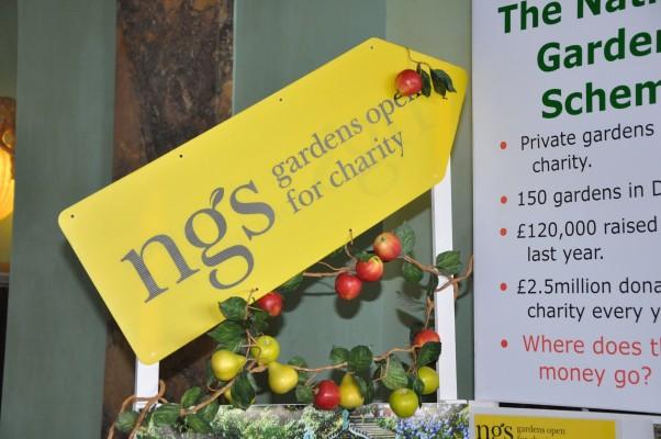 NGS garden open sign