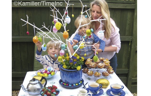 how to make an easter tree