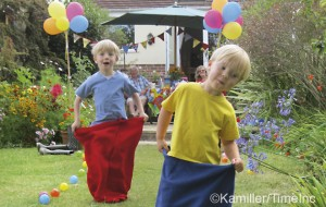 Garden games for children - great holiday projects