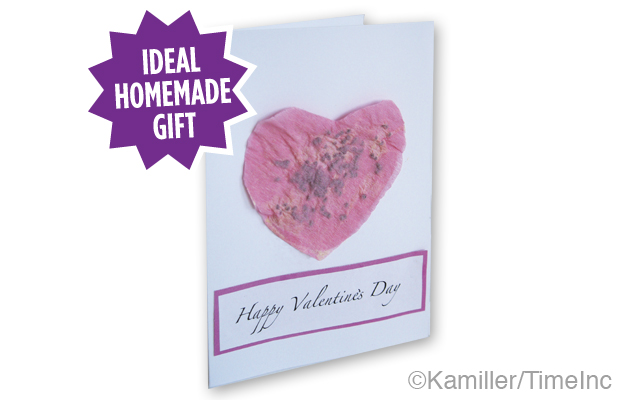 How to make Valentine's Day seed cards - a great project for children