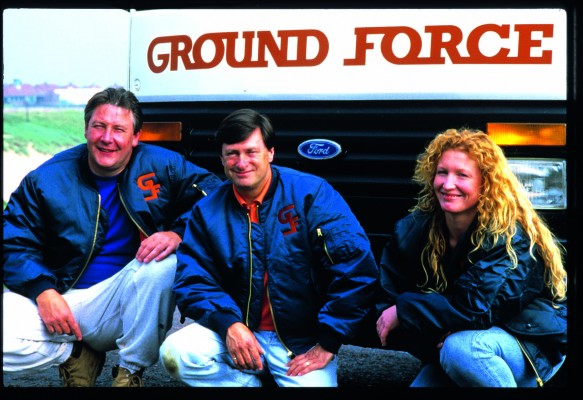 Charlie Dimmock became famous on Ground Force