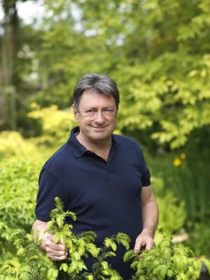 Alan Titchmarsh will appear at Malvern
