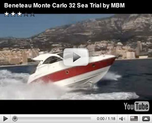 Monte Carlo Beneteau 32 boat test video