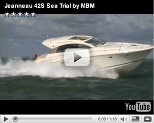 Jeanneau 42S boat test video